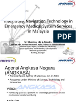 Integrating Navigation Technology in Emergency Medical System Services in Malaysia