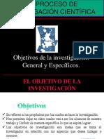2.3.-Objetivos de La Investigación General y Específicos.