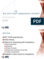 Competency Are Your Staff Adequately Trained