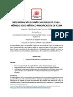 DETERMINACIÓN DE OXÍGENO DISUELTO POR EL MÉTODO YODO MÉTRICO 2.docx