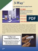 LT15068-ES Kit de Pruebas Para Refrigerante CC2602 ARS-GLICOL