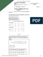 Ejemplo algebra lineal
