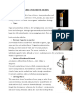 DIFFERENT FORMS OF CIGARETTE SMOKING.docx