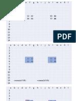 excel análisis básico de celdas en plantilla