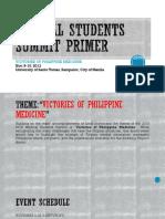 Medical Students Summit Primer - Delegates