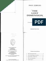 Paul Virilio - Lost Dimension (1991).pdf