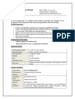 Upen Resume (PHP Exp)