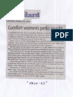 Manila Standard, Mar. 25, 2019, Comfort women's perks sought.pdf