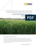 Basmati Crop Survey Report-3