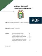 Personajes de Lenguaje - Epoca Precolombina y Grecolatina