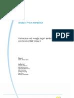 Handboek Schaduwprijzen _ Waardering en Weging Van Emissies en Milieu Effect En