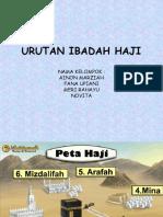Urutan Ibadah Haji