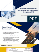 1701083 - Maxwell Communication Corporation and Mirror Group Newspapers