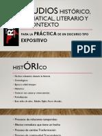 Estudios Histórico, Gramatical, Literario y Su