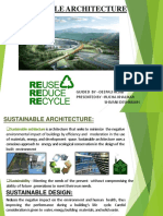 Suistainable Architecture