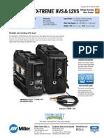 Suitcase X-treme 12VS Spec Sheet