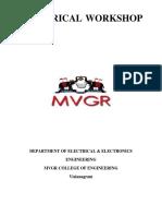 BEW Electrical Workshop Manual 2017-18