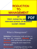 01 an Introduction to Management