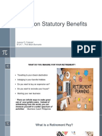 Report on Non Statutory Benefits - Retirement - IR 217