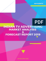 Indian TV Advertising Market Analysis & Forecast Report 2019