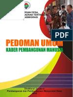 1. Pedoman Umum Kader Pembangunan Manusia_FINAL UPDATE.pdf