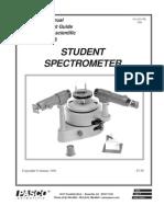 Exp6 Spectrometer