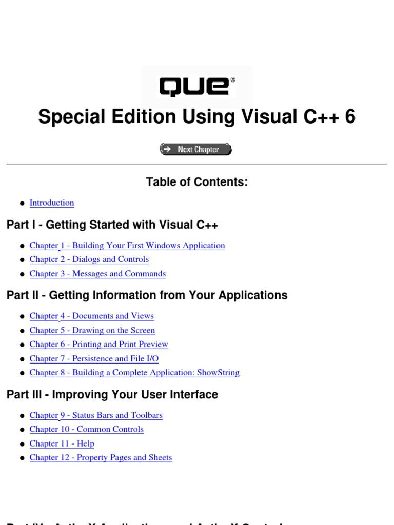 Special edition using visual c 60 dialog box databases fandeluxe Image collections