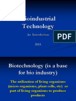Week 1-Introduction of Bioindustry
