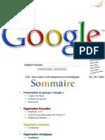 L'Organisation chez Google