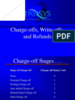 17 Charge-Offs, Write-Offs, And Refunds