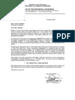 Letter Marinduque