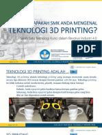 Smk 3d Printing by Ikhwan Taufik Ugm