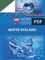 Water Byelaw English