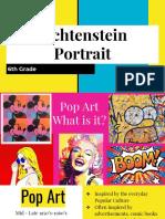 powerpoint roy lichtenstein