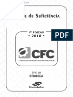 Prova CFC 20182 Tipo 01 Branca Com Link