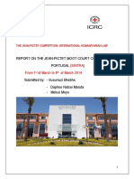 The 2014 JEAN PICTET MOOT REPORT