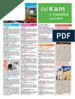 KAM v Trenčíne - apríl 2019