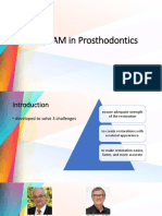 Cadcam in Prosthodontics Pedagogy