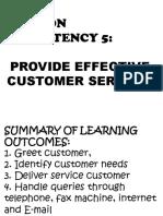PROVIDE EFFECTIVE CUSTOMER SERVICE.pptx