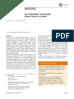 BIA of Biosimilar Trastuzumab in Croatia