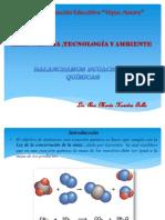 Balanceo de Eduaciones Quimicas