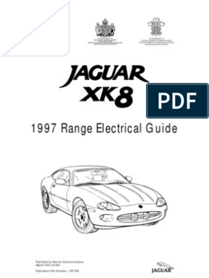 XK8 1997 Elec Guide | Vehicles | Computer NetworkScribd