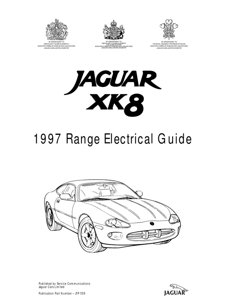 Xk8 1997 Elec Guide Vehicles Computer Network