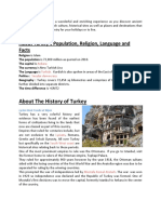 All Information About Turkey