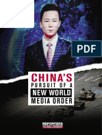 """China's Pursuit of a New World Media Order"""