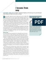 AFTERNOON SESSION II Design Patent Lessons From Apple v. Samsung Christopher v. Carani. Managing IP