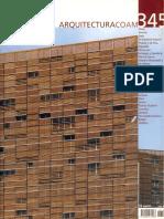 06 | Arquitectura COAM | - | 345 | Spain | FuCOAM | Ecoboulevard, Vivienda de acero & madera Ranón | pg. 34-41