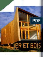 08 | Chalets & Maisons Bois | En Bord de Mer | 34 | France | AUBIN imprimeur | Vivienda de acero y madera Ranón | pg. 100-106