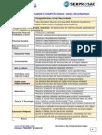 4 Competencias y Capacidades SECUNDARIA