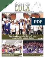 Noticias Cholula del 25 marzo de 2019